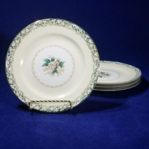 Noritake Bread & Butter Plate Round 6 3/8″ (set of 4) – Mystery 14 – White Rose