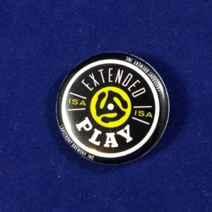 Extended Play Pinback Button – Lakefront Brewing – Milwaukee, WIsconsin – Beer